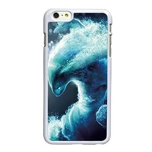 W4Z19 dota D7L8BS funda iPhone 6 Plus 5.5 pulgadas funda caja del teléfono celular de cubierta AG0MSN7KB blanco