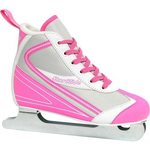 Lake Placid Starglide Girl's Double Runner Figure Ice Skate (11J)