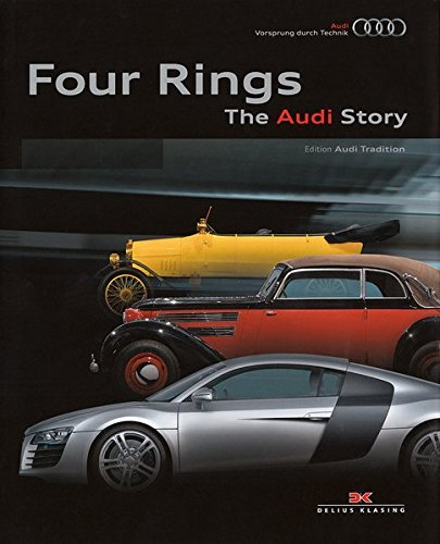 Four Rings: The Audi Story by Audi (2013-09-16) por Audi