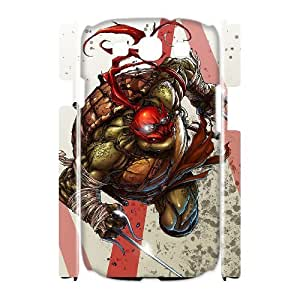ANCASE Custom Color Printing Ninja turtles Phone 3D Case For Samsung Galaxy S3 I9300 [Pattern-1]