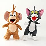 Tom and Jerry Soft Toy Gift For Kids (Boys, Girls and Baby) Real Looking Miniature Figures For Birthday (Return) Gift Brown and Grey Color Combo 20 CM