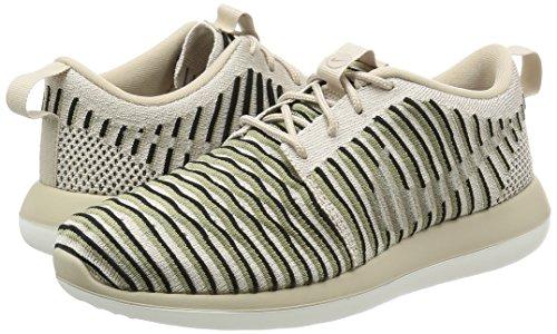 Nike Frauen Roshe Two Flyknit Weiß / Wolfsgrau