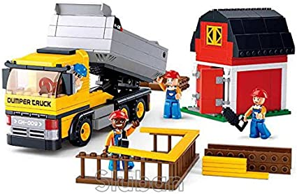 Sluban B0566 Town Camper Vehicle Car Figure Building Block Toy blocks toys