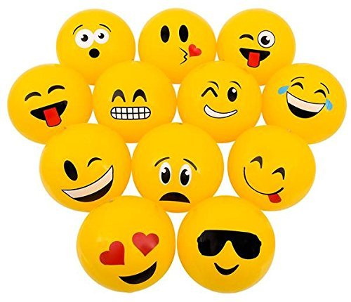 Emoji Beach Balls Inflatable Inch product image