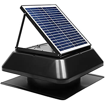 Sunvent Svt 224s Solar Ventilation Fan W Battery For Roof