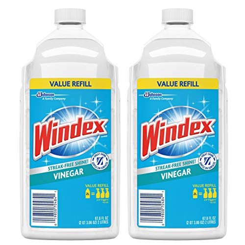 Windex Vinegar Glass Cleaner Refill (Pack of 2) Made in USA Brand New and Fast Shipping