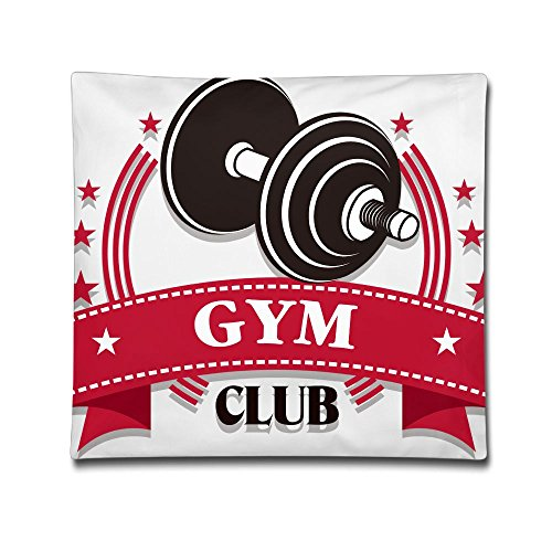 Phyllis Walker Pillow Shams Fitness Gym Club Square Throw Pillow Case Cotton Decorative Pillowcase Cushion Cover For Sofa Bedroom -