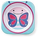 Skip Hop Zoo Little Kid Melamine Feeding Bowl, Blossom Butterfly