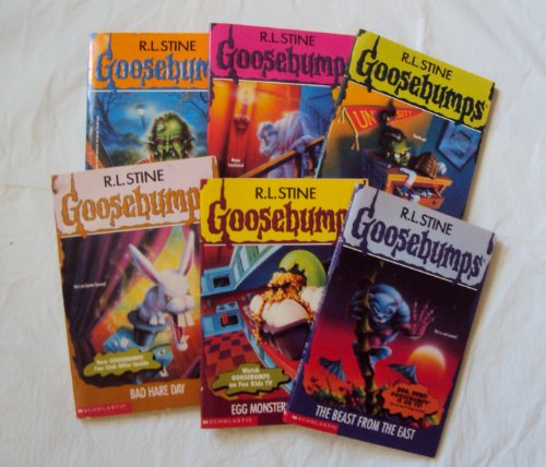 Goosebumps Original Covers #36-43 : The Beast From the East; Egg Monsters From Mars; Bad Hare Day; How I Got My Shrunken Head; the Headless Ghost; the Haunted Mask 2 (Goosebumps) (Egg Monsters From Mars)