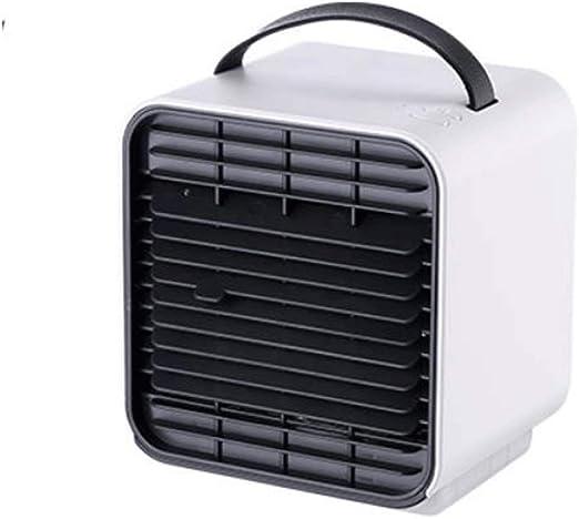 Mini Ventilador de enfriamiento Enfriador de Aire Ventilador del Ventilador Aire Acondicionado Personal Aire Acondicionado Enfriador de Escritorio Aire Acondicionado Aire Acondicionado USB Aire a: Amazon.es: Hogar