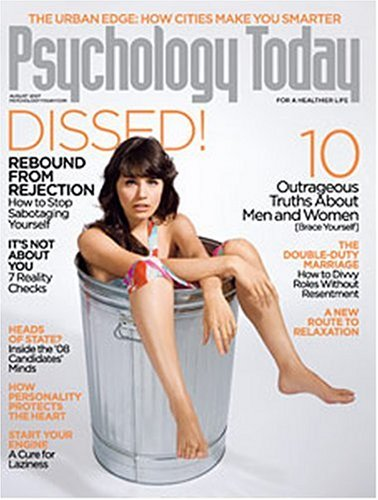 Psychology today back issues