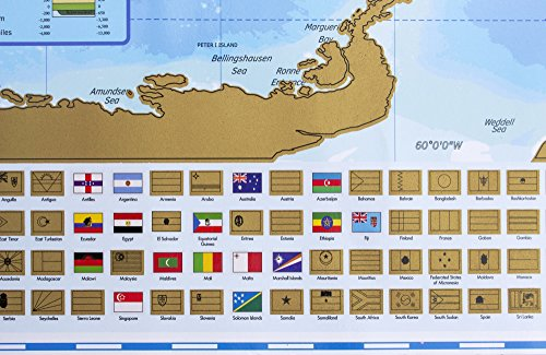 Maps Scratch Off World Map With Country Flags Us States Australian States And Canadian