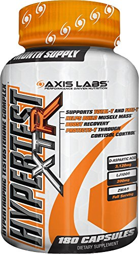 Axis Labs Hypertest Xtr  Hypertrophic Testosterone Complex  180 Count