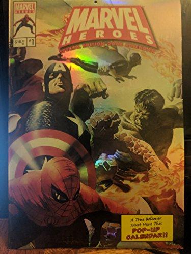 (Marvel Heroes Special Edition 2008 Calendar)