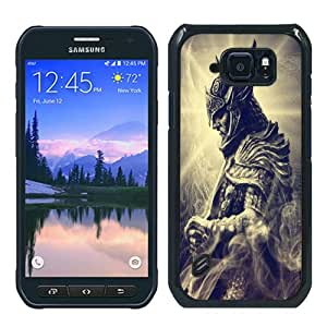 Hot Sale Samsung Galaxy S6 Active Cover Case ,skyrim 04 Black Samsung Galaxy S6 Active Cover Popular And Lovely Custom Designed Phone Case