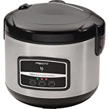 RIC 16 CUP DIGITAL RICE COOKER - SS