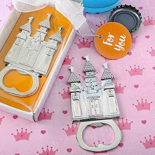 (Castle Themed Silver Metal Bottle Opener (50))