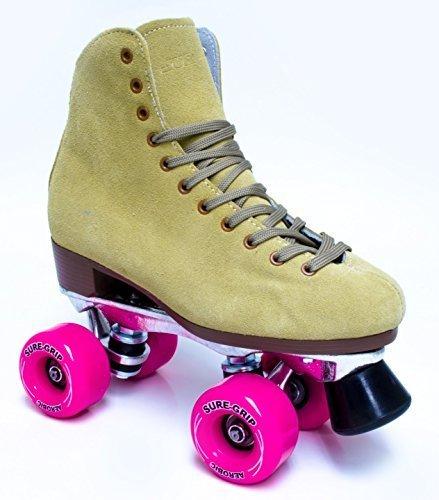 Sure-Grip 1300 Tan suede roller skates by Sure-Grip (Image #1)