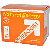 Natural Energy Orange Powder EBOOST 20 Packets Box