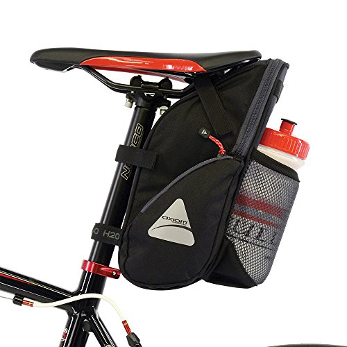 Axiom Granfondo H2O Seat Bag, Grey/Black