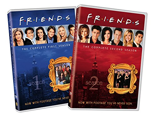 Friends: Seasons 1 and 2 (Friends Dvd Season 1)