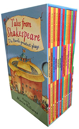 Marcia Williams Tales from Shakespeare 14 Books Collection Box Set The Bard's Greatest Play (Romeo and Juliet, Macbeth, Hamlet, and more by Marcia Williams (7-Jul-1905) Paperback