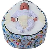Extra grande bebé puf con arnés de seguridad