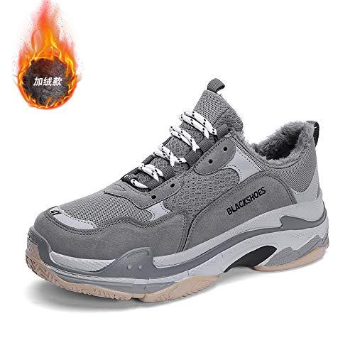 Na-Zh Herren Turnschuhe Casual Schuhe Trendy Trendy Trendy Super Fire Winter warme alte Schuhe,  Schwarze Esche, 44 bd924b