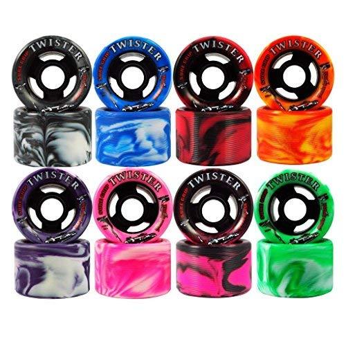 Sure-Grip Twister Wheels - Pink/Black