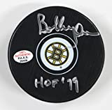 Bobby Orr Boston Bruins Signed Autographed Bruins Logo NHL Hockey Puck PAAS COA