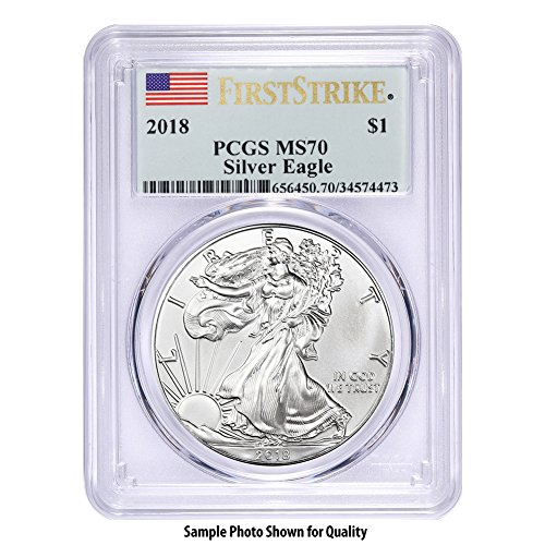 (2018 American Silver Eagle $1 MS70 PCGS First Strike)
