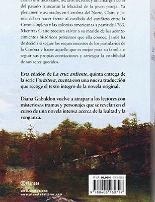 La cruz ardiente (Bestseller): Amazon.es: Gabaldon, Diana, Zilli ...