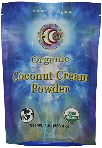 Yogurt Coconut Milk (Earth Circle Organics Coconut Cream Powder 1 lb)