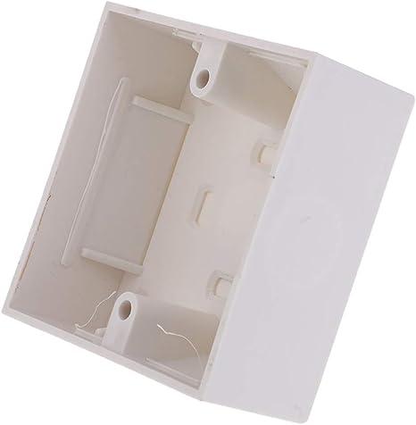 86 x 86 mm Caja de placa de pared para interruptor de placa de ...