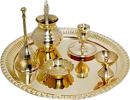 Buy brass pooja thali online dating