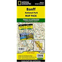 Banff National Park [Map Pack Bundle] (National Geographic Trails Illustrated Map)