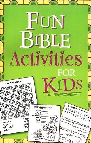 Fun Bible Activities for Kids: Ken Save, Vickie Save