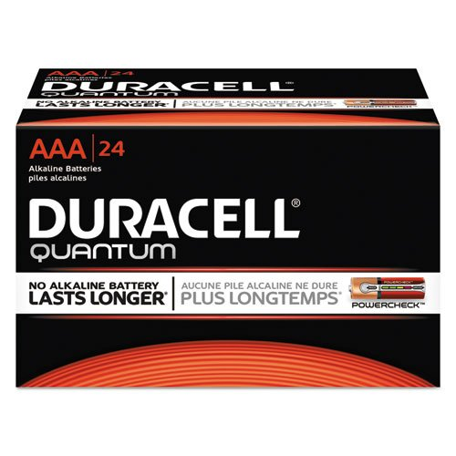 Quantum Alkaline Batteries With Power Preserve Technology, Aaa, 144/Ct by Duracell