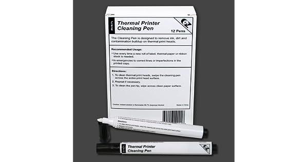 Amazon.com: Impresora térmica Limpieza plumas para todas las ...