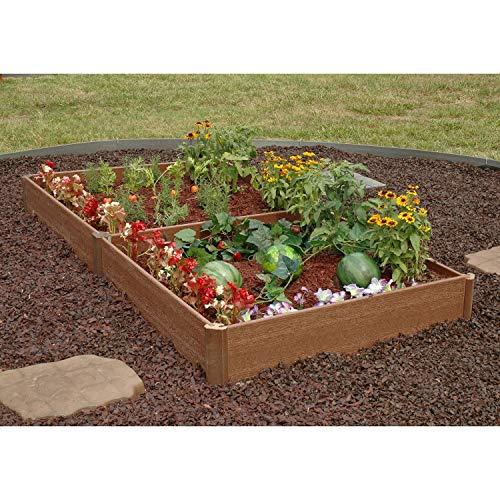 Greenland Gardener Raised Bed Garden Kit – 42″ x 84″ x 8″