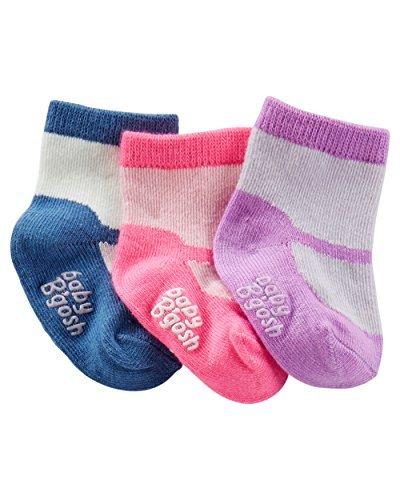 【在庫有】 OshKosh MARY B ' goshベビー女の子3 - Pack MARY JANE ' Babyブーティ OshKosh 0 - 3 Months B01M9D7CVX, ナミオカマチ:aaca7da8 --- domaska.lt