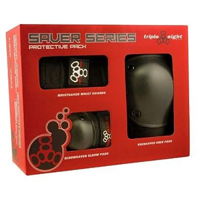 Triple 8 3 Pack Protection Set Youth black / noir Taille Uni