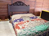 Acrylan Mexican designs Double Size bed blanket (Style 2)