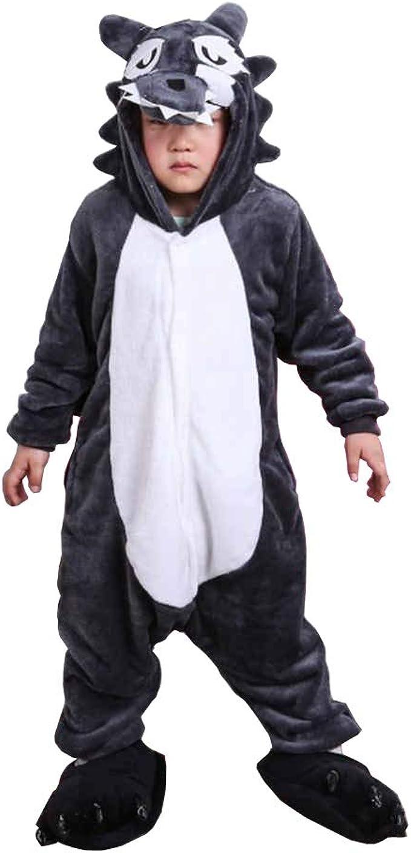 Fandecie Unisex Niños Pijama Animal Onesies Disfraz Stitch ...