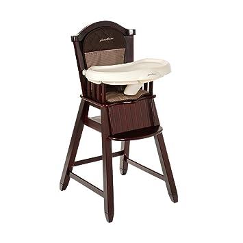 Amazoncom Eddie Bauer Wood High Chair Michelle Cherry Wood