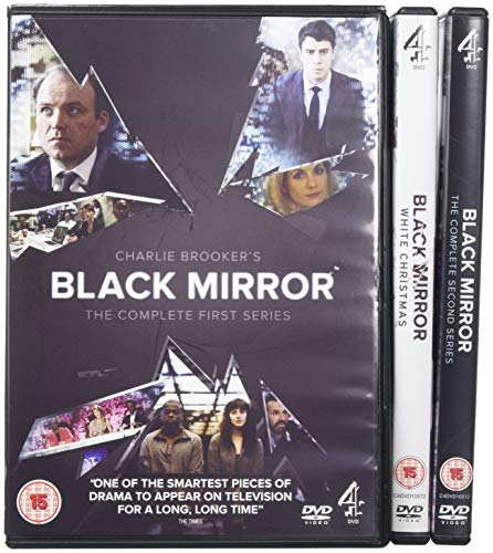 Black Mirror - Series 1-2 and Special [DVD] [Region2] Requires a Multi Region Player