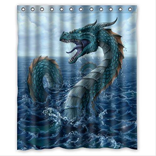 Dragon Shower Curtains