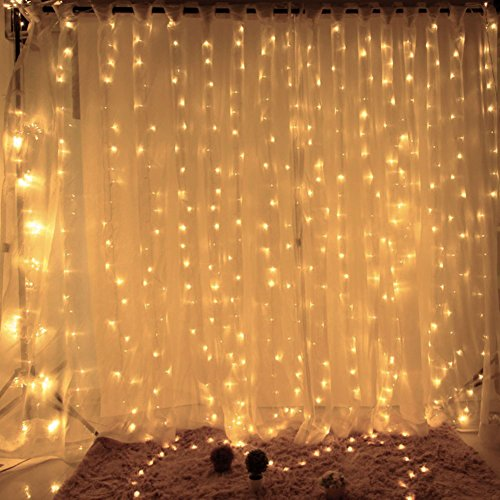 Black Led Light Curtain - 1