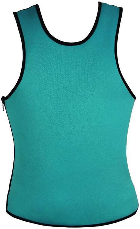 Q&M Hombres Adelgazante Body Shaper Chaleco Camisa Neopreno Compresión Músculo Tanque,S: Amazon.es: Hogar