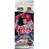 2018 Topps Series 1 MLB Baseball EXCLUSIVE Factory Sealed JUMBO FAT Pack with 36 Cards including Legends in the Making Insert! Loaded with Cool Inserts & Rookies! Look for Autographs & Relics! Loaded!